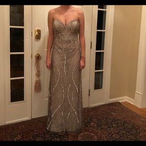 Embellished Scala evening gown